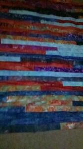 Another Hatchett Job, lap quilt
