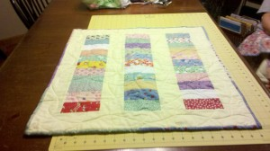 Another Hatchett Job, quilting, sewing, homemade gifts, frugal gifts