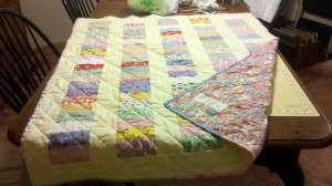 Another Hatchett Job, sewing, quilting, homemade gifts, frugal gifts