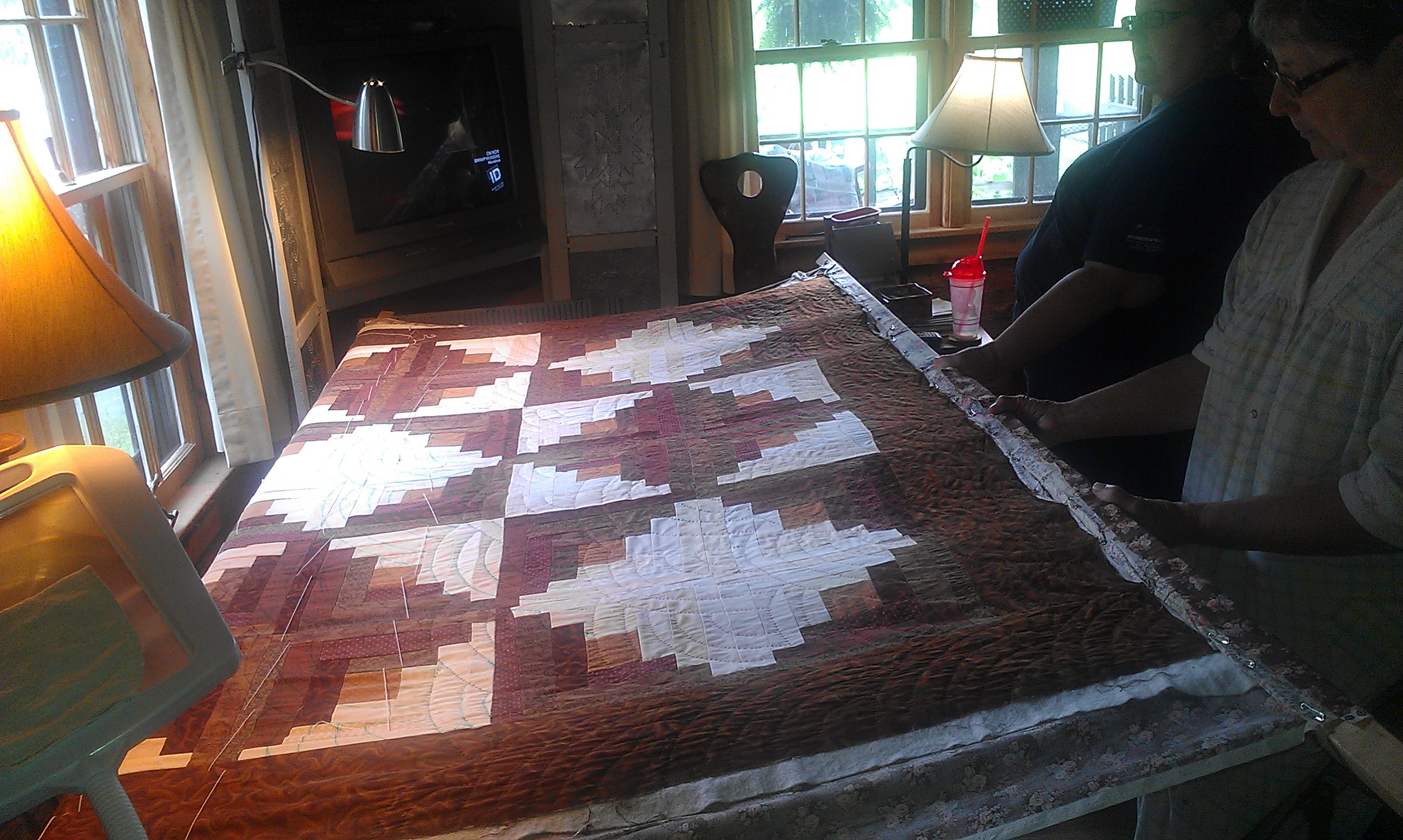 Another Hatchett Job... | Tag | hand quilting